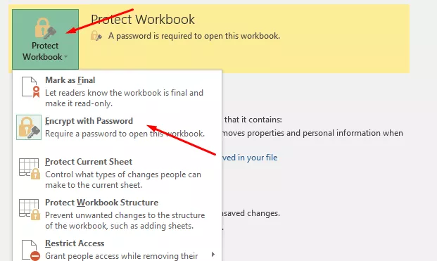 How to Remove the Password for Opening an Excel File. Step 3