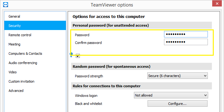 How TeamViewer Stores Passwords